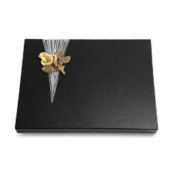 Grabtafel Aruba Delta Rose 3 (Bronze)