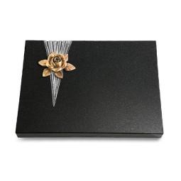 Grabtafel Aruba Delta Rose 4 (Bronze)