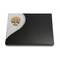 Grabtafel Aruba Folio Baum 3 (Bronze)
