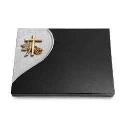 Grabtafel Aruba Folio Kreuz 1 (Bronze)