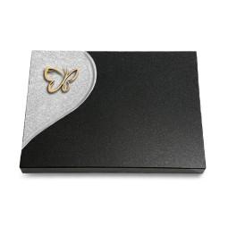 Grabtafel Aruba Folio Papillon (Bronze)