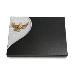Grabtafel Aruba Folio Taube (Bronze)