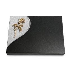 Grabtafel Aruba Folio Rose 2 (Bronze)