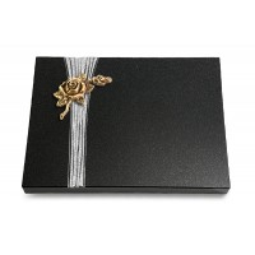 Grabtafel Aruba Strikt Rose 1 (Bronze)