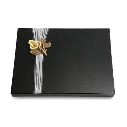 Grabtafel Aruba Strikt Rose 3 (Bronze)