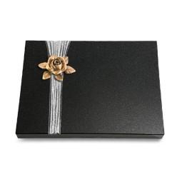Grabtafel Aruba Strikt Rose 4 (Bronze)