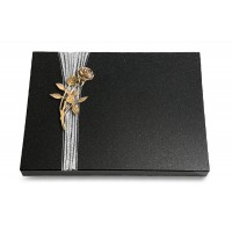 Grabtafel Aruba Strikt Rose 6 (Bronze)