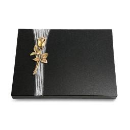Grabtafel Aruba Strikt Rose 8 (Bronze)