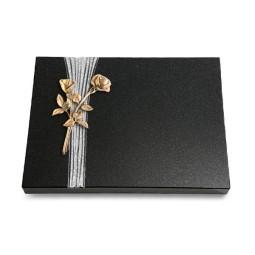 Grabtafel Aruba Strikt Rose 10 (Bronze)