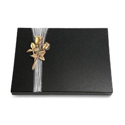 Grabtafel Aruba Strikt Rose 11 (Bronze)