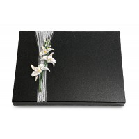 Grabtafel Aruba Strikt Orchidee (Color)