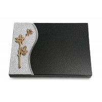 Grabtafel Aruba Wave Rose 9 (Bronze)