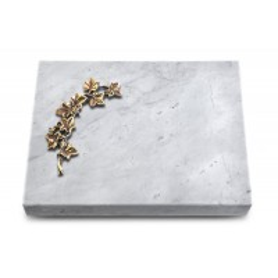 Grabtafel Kashmir Pure Efeu (Bronze)