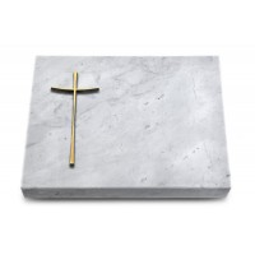 Grabtafel Kashmir Pure Kreuz 2 (Bronze)