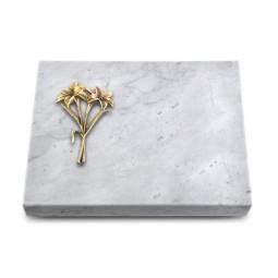 Grabtafel Kashmir Pure Lilie (Bronze)
