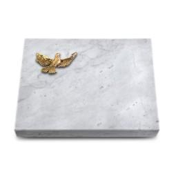 Grabtafel Kashmir Pure Taube (Bronze)