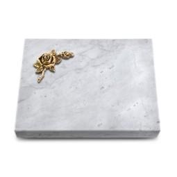 Grabtafel Kashmir Pure Rose 1 (Bronze)