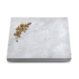 Grabtafel Kashmir Pure Rose 5 (Bronze)
