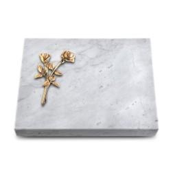 Grabtafel Kashmir Pure Rose 10 (Bronze)