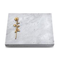 Grabtafel Kashmir Pure Rose 12 (Bronze)