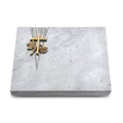 Grabtafel Kashmir Delta Kreuz 1 (Bronze)