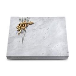 Grabtafel Kashmir Delta Rose 1 (Bronze)