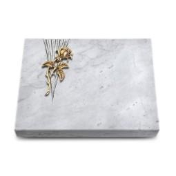 Grabtafel Kashmir Delta Rose 2 (Bronze)