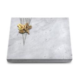 Grabtafel Kashmir Delta Rose 3 (Bronze)