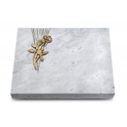 Grabtafel Kashmir Delta Rose 6 (Bronze)