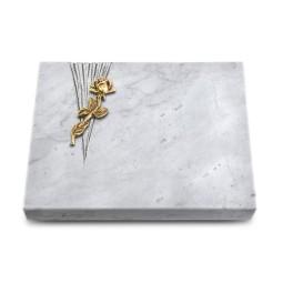 Grabtafel Kashmir Delta Rose 7 (Bronze)