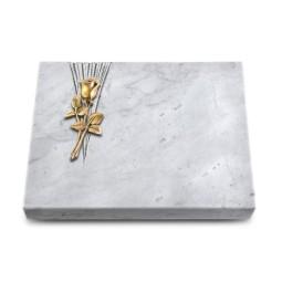 Grabtafel Kashmir Delta Rose 8 (Bronze)