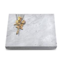Grabtafel Kashmir Delta Rose 11 (Bronze)