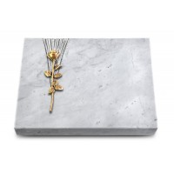 Grabtafel Kashmir Delta Rose 12 (Bronze)