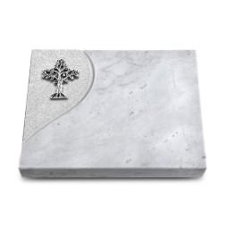 Grabtafel Kashmir Folio Baum 2 (Alu)