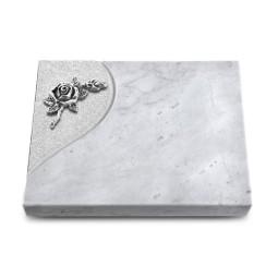 Grabtafel Kashmir Folio Rose 1 (Alu)
