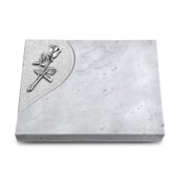 Grabtafel Kashmir Folio Rose 8 (Alu)
