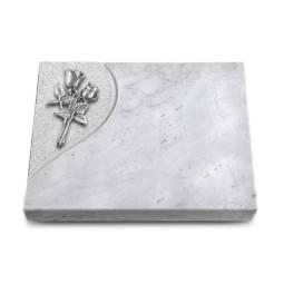 Grabtafel Kashmir Folio Rose 11 (Alu)