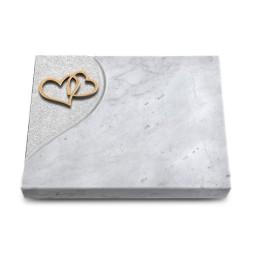 Grabtafel Kashmir Folio Herzen (Bronze)