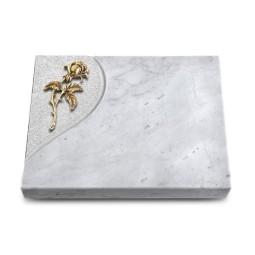 Grabtafel Kashmir Folio Rose 2 (Bronze)