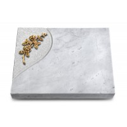 Grabtafel Kashmir Folio Rose 5 (Bronze)