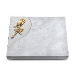 Grabtafel Kashmir Folio Rose 8 (Bronze)