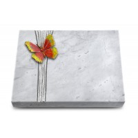 Grabtafel Kashmir Strikt Papillon 2 (Color)