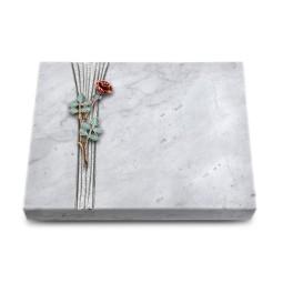 Grabtafel Kashmir Strikt Rose 4 (Color)