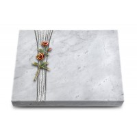 Grabtafel Kashmir Strikt Rose 6 (Color)