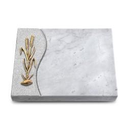 Grabtafel Kashmir Wave Ähren 2 (Bronze)