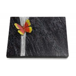 Grabtafel Kashmir Strikt Papillon 2 (Color)