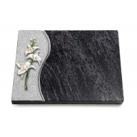 Grabtafel Kashmir Wave Orchidee (Color)