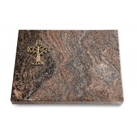 Grabtafel Orion Pure Baum 2 (Bronze)