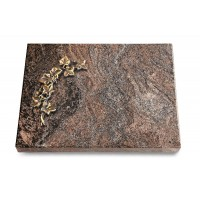 Grabtafel Orion Pure Efeu (Bronze)