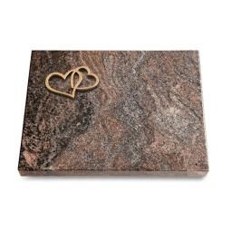 Grabtafel Orion Pure Herzen (Bronze)